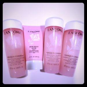 New Lancome Tonique Comfort & Rose Mask Travel siz